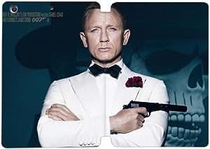 [PU del tirón del cuero] mini iPad funda,SPECTRE 007 James Bond [Theme] iPad mini 1 Mini 2 Mini 3 funda [Con Pantalla Protecto] KA0844