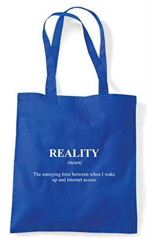 Alternative Dictionary Funny In Tote Blue Bag The Shopper Internet Definition Royal Reality Not qxUHWtwTX0