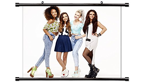 Little Mix Pop Music Group Fabric Wall Scroll Poster (32x24) Inches (Fabric Mix Cd)