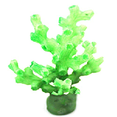 Starfish Cluster - ReFaXi Simulation Coral Mini Aquarium Coral Cluster Starfish Simulation Starfish Plant Set (Green)