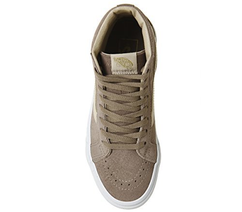 Baskets homme Suede Stucco Hi True mode Sk8 Vans vd5i6bt White Sand Shifting Exclusive 6gwIY