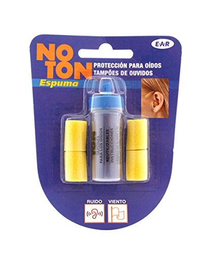 NOTON - TAPONES OIDOS NOTON ESPUMA 4UN: Amazon.es: Salud y cuidado personal