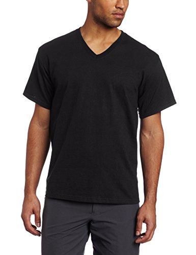 Russell Athletic V Neck Black 4X Large