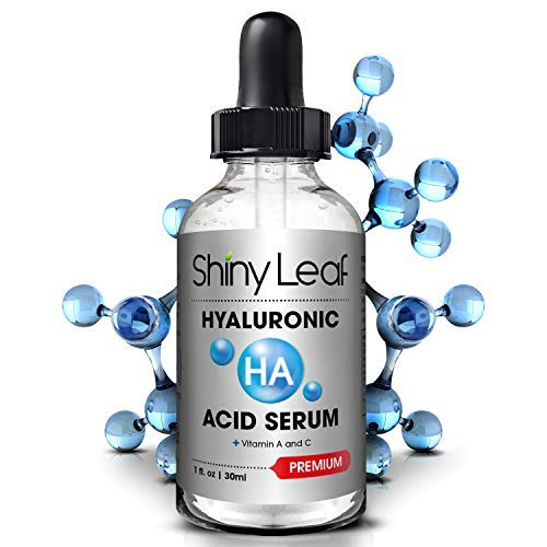 Hyaluronic Acid Serum for Face with Vitamin C and A