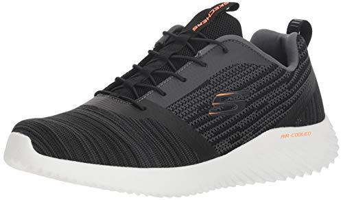 Bounder Hombre Skechers Negro Para Zapatillas 6qYnfpaZ