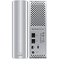 Mac Time Machine Compatible WD External Desktop Drive W/ FireWire & USB Combo Ports - 3TB Storage Capacity, Optimized for Multimedia - WD My Book Studio Aluminum by Western Digital PN: WDBC3G0030HAL