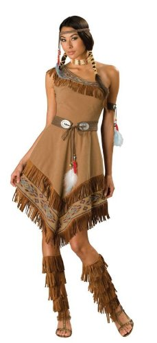 Indian Maiden Adult Costume - -