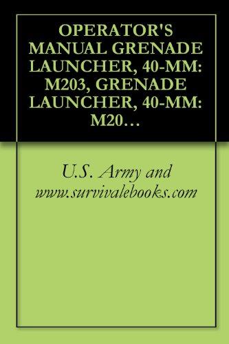 OPERATOR'S MANUAL GRENADE LAUNCHER, 40-MM: M203, GRENADE LAUNCHER, 40-MM: M203A1, TM 9-1010-221-10 -