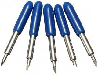 Tanzimarket - De alta calidad de 30 grados Roland GCC Cuchillas de corte Plotter Vinilo Cuchilla Cuchillo: Amazon.es: Electrónica