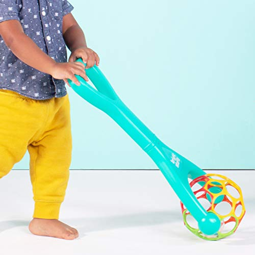 41OJZoOCUvL - Bright Starts Oball 2-in-1 Roller Sit-to-Stand Push Toy