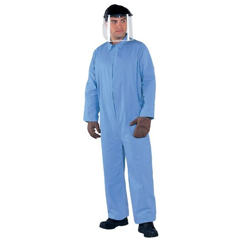 Kleenguard A65 Flame Resistant Coverall Zipper Front, Large (25 Pack)