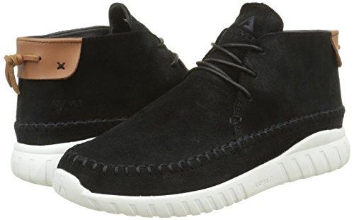 Noir Sneaker Basse Asfvlt Yuma Caramel black Unisex Adulto HXqnf5w