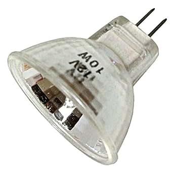 Higuchi JCR 8297 - 10 Watt 12 Volt MR11 Light Bulb, 30 Degree Flood