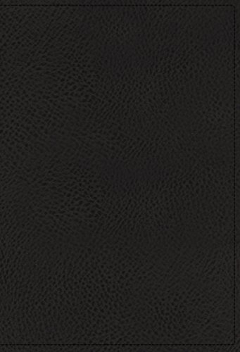 - NASB, Single-Column Reference Bible, Wide Margin, Goatskin, Black, Premier Collection, 1995 Text, Comfort Print