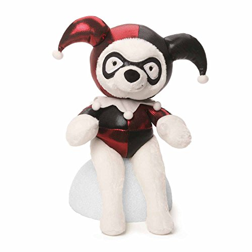 GUND DC Comics Harley Quinn Dog Stuffed Animal Plush, 13