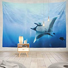 "There is a Wall Hanging Tapestry includeSize:80"" W x 60"" L,Please allow 1-2cm deviation ,as they are handmadeA good decoration idea for the hall, dining room, bedroom, study, college dorm etc.Since the display color of the computer display an..."