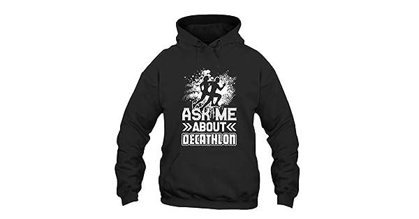 Amazon.com: Zira-S Ask Me About Decathlon Long Sleeve Hoodie ...