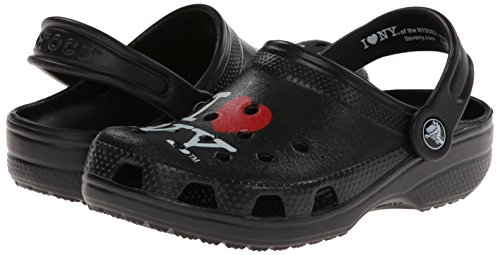 Crocs Kids 15394 I Love NY Classic Clog (Toddler/Little Kid),Black,6 M US Toddler by Crocs (Image #6)'