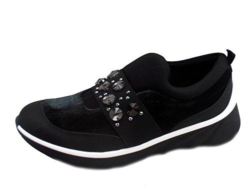 Andy-z Sneakers Halia Para Mujeres, Talla 38, Color Negro
