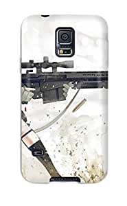 Defender Case With Nice Appearance (women And Guns Anime Other) For Galaxy S5
