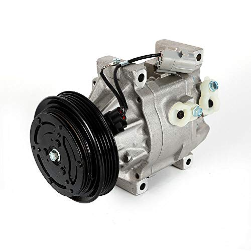 2002 Toy - BoTaiDaHong NEW AC Compressor&A/C Clutch, Air Conditioning Compressor Fits 2000-2005 Toy- ot-a Echo L4 1.5L CO 11063AC 140709C