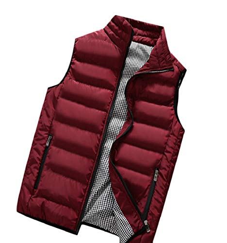 Vests Packable Down Sleeveless Gocgt Winter Men's Lightweight Puffer 3 Coats fWv8pU8wq