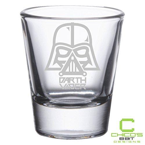 Star Wars - Darth Vader - Etched Shot Glass