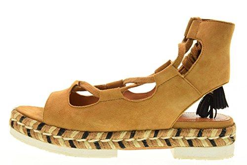 CUOIO Cuoio MIA scarpe donna APEPAZZA SUEDE MRA02 espadrillas nRqa7xYwU