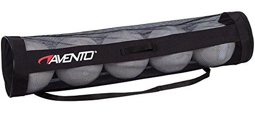 Avento Unisex 75MF Tube Tasche für 5Bälle, Schwarz, One size