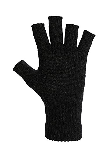 DARN WARM Alpaca Gloves - BEST SOLUTION for COLD HANDS - World's Best Natural Thermal Management - ALOE Infused - Perfect for Comfortable TOASTY Home Time and OUTDOOR Activities (Large, (Weather Solutions)
