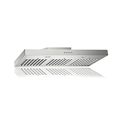 KOBE Range Hoods 3-Speed 750 CFM Stainless Steel Brillia Under Cabinet Range Hood