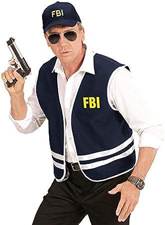 WIDMANN wdm58958 ? Disfraz agente FBI, Azul, One size: Amazon.es ...