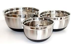Libertyware Stainless Steel Mixing Bowl Set