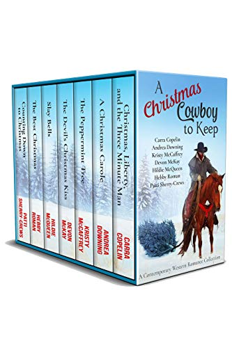 A Christmas Cowboy to Keep: A Contemporary Western Romance Collection]()