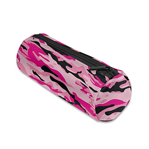 Pink Camouflage Makeup Storage Bag Cosmetic Pouch Travel Portable Handbag Toiletry Organizer