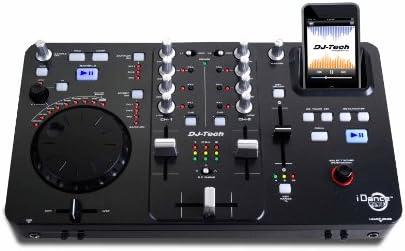 DJ Tech IDANCE Zero - Mesa de mezclas (MP3, con dock para ipod ...