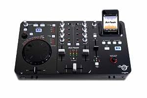 DJ Tech IDANCE Zero - Mesa de mezclas (MP3, con dock para ipod/iphone, 2 canales)