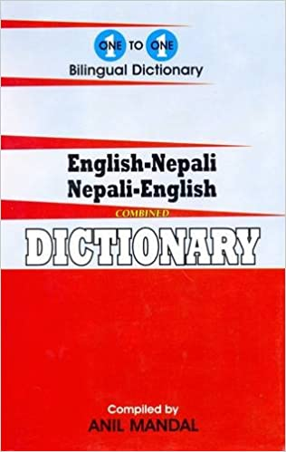 English-Nepali /& Nepali-English One-To-One Dictionary Script /& Roman