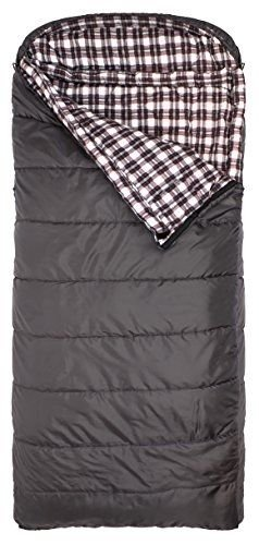 Sports Fahrenheit Regular 0F Sleeping Bag, Grey, Left Zip by Sleeping Bag