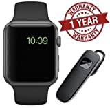 MacBerry A1 Bluetooth Smartwatch for Android & iOS Phones (Black)