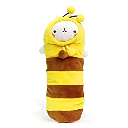 Molang - Honey Bee | 10 Inch | Kawaii Pencil Case 10