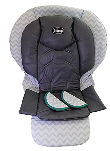 Chicco Polly 13 Highchair Replacement Seat Cushion and Harness Shoulder Pads - EMPIRE ()