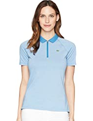 Lacoste Womens Jersey Caviar Golf Performance Polo