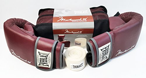 Muhammad Ali Signature Collection Boxing Gloves by Everlast