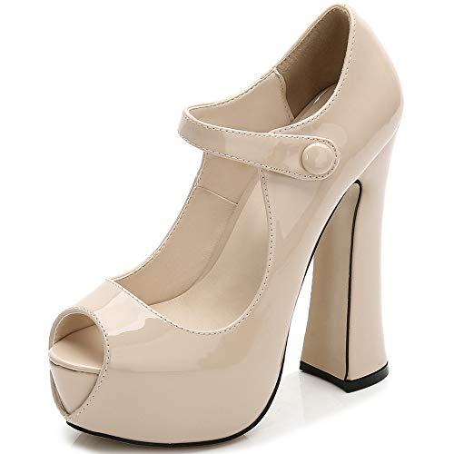 plateforme D soirée pour à haute chaussures dames sandales talons élégantes carré Zpffe femmes wxazq7fzA
