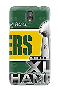 Durable Protector Case Cover With Greenay Packers Hot Design For Galaxy Note 3 by icecream design