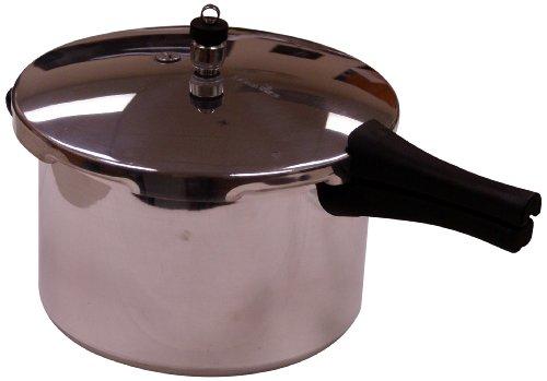 Manttra Aluminum Pressure Cooker, 8-Quart