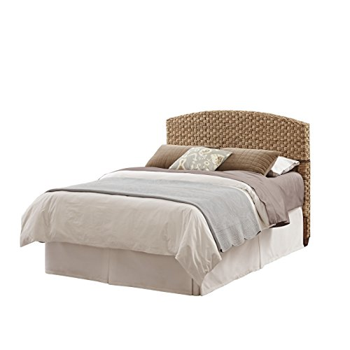 Home Styles Furniture 5403-501 Cabana Banana II Headboard, Queen/Full, Honey Finish (Weave Furniture Banana)