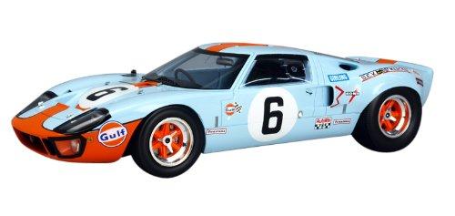 Spark – 18lm69 – Ford GT 40 MKI – Winner Le Mans 1969 – 1 18 – Blau Orange
