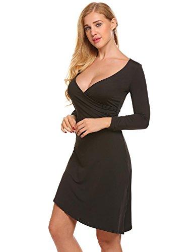 Asymmetrical Mini Dress - 7